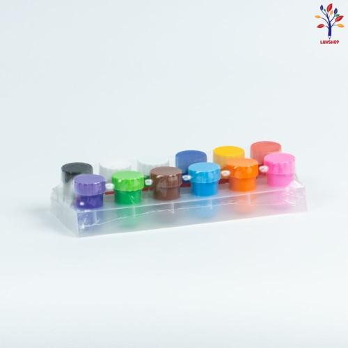 Acuarele  guasa 12 culori/set
