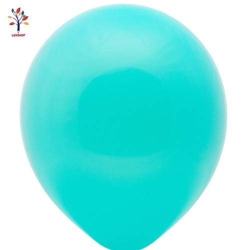 "Baloane latex 100 buc/set 12"" aquamarine mat"