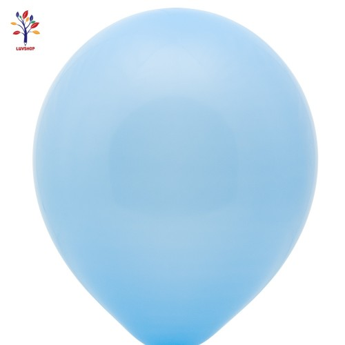 "Baloane latex 100 buc/set 12"" bleu mat"