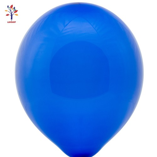 "Baloane latex 100 buc/set 12"" bleumarin mat"