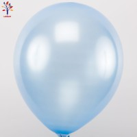 "Baloane latex 100 buc/set 12"" bleu sidef"
