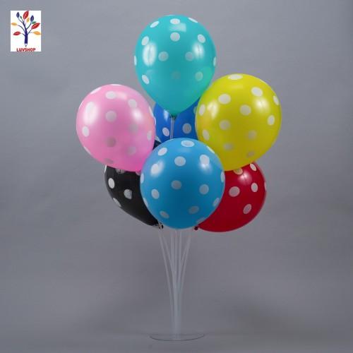 Suport baloane cu 7 bete, din plastic