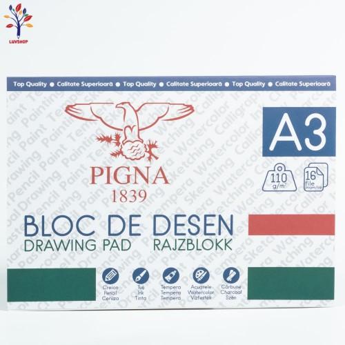 Bloc desen PIGNA A3 110gr