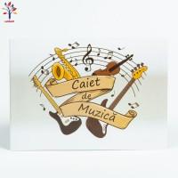 Caiet muzica 16 file