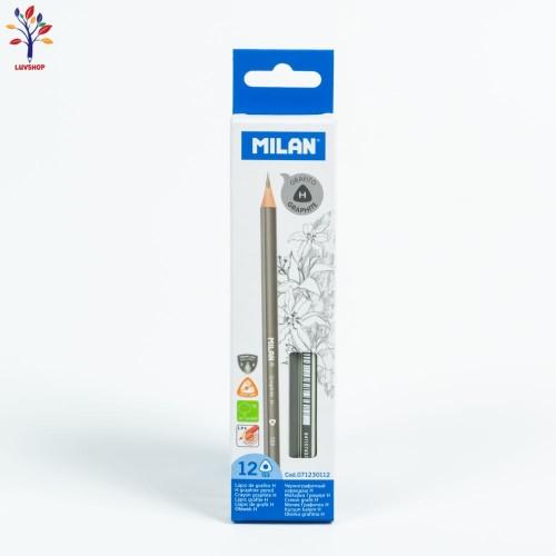 Creioane MILAN grafit H