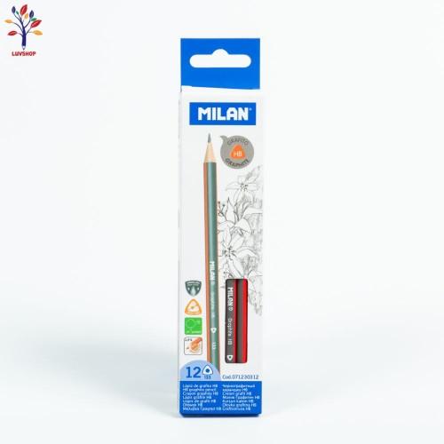 Creioane MILAN grafit HB