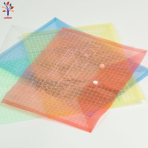 Mapa plastic patratele cu capsa
