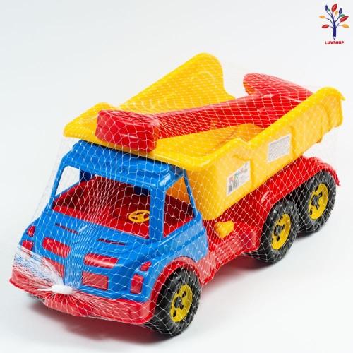 Camion mare + lopatele nisip