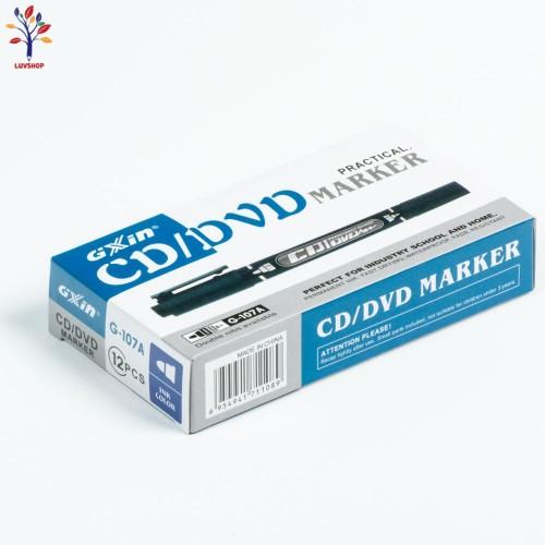 Marker permanent 2 capete CD G-107 A