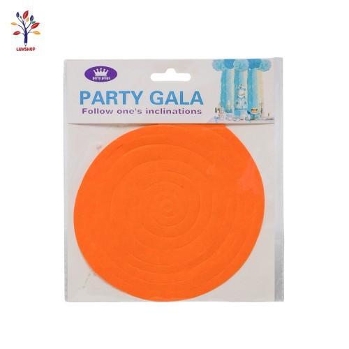 Codita hartie pentru decor portocaliu